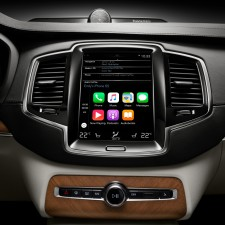 Apple CarPlay no Novo Volvo XC90