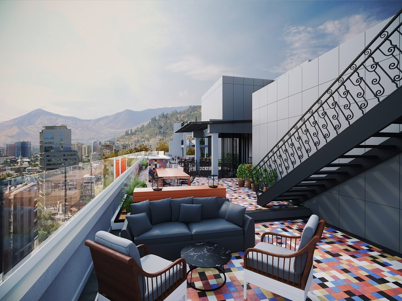 Luciano K ROOFTOP TERRACE - NORTH VIEW - baixa