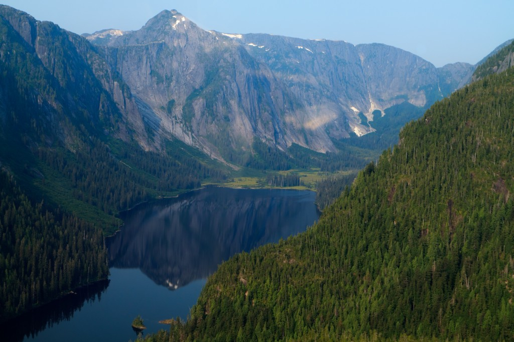 One of the many ocean inlets in Misty Fjords National Monument