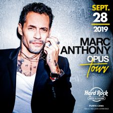 Hard Rock Hotel & Cassino Punta Cana terá show exclusivo do cantor Marc Anthony